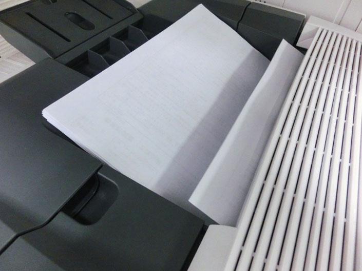 印刷に必要な「予備紙」の存在。