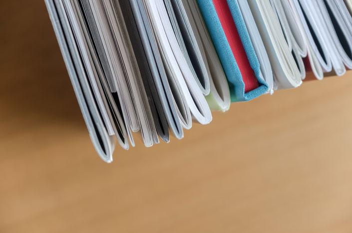 表紙と本文の「用紙」を変えてみる。